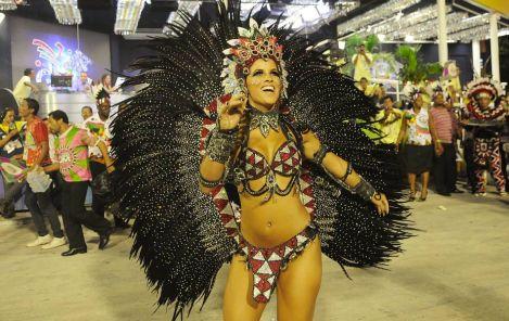 Hot Rio Carnival 2012 Carnival Parades in Rio
