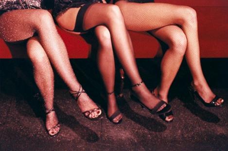 Women's Legs in Sexy Stockings