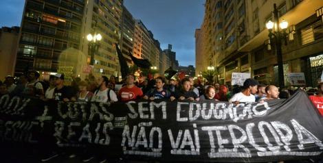 BRAZIL-FBL-WC2014-PROTEST