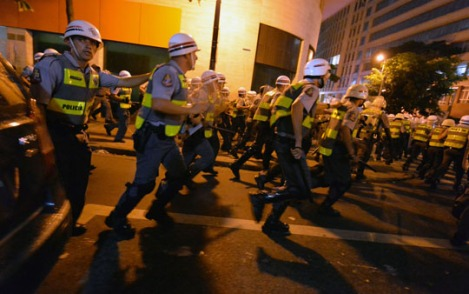 BRAZIL-FBL-WC2014-PROTEST