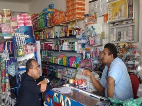 Mercadinho (small neighbourhood supermarket)