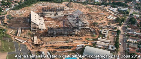 In Cuiaba, the state capital of Mato Grosso, ten thousand old trees were victim to the construction works