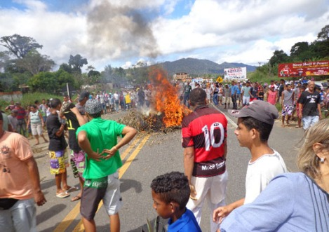 Protest in Buerarema/Bahia