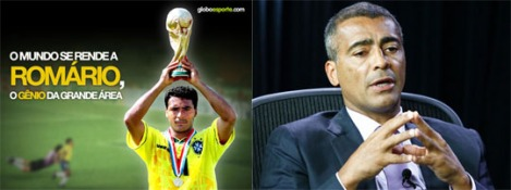 Romário as football star and member of Congress