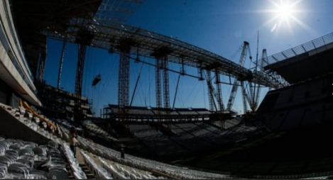 Itaquerão Stadium in São Paulo still faces a number of constrcution irregularities