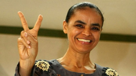 The (now) presidential Candidate Marina Silva - Photo: Geraldo Bubniak/Fotoarena